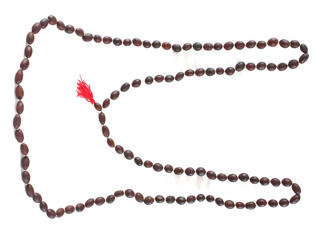 Item 45, Lotus Seed Prayer Bead Rosary