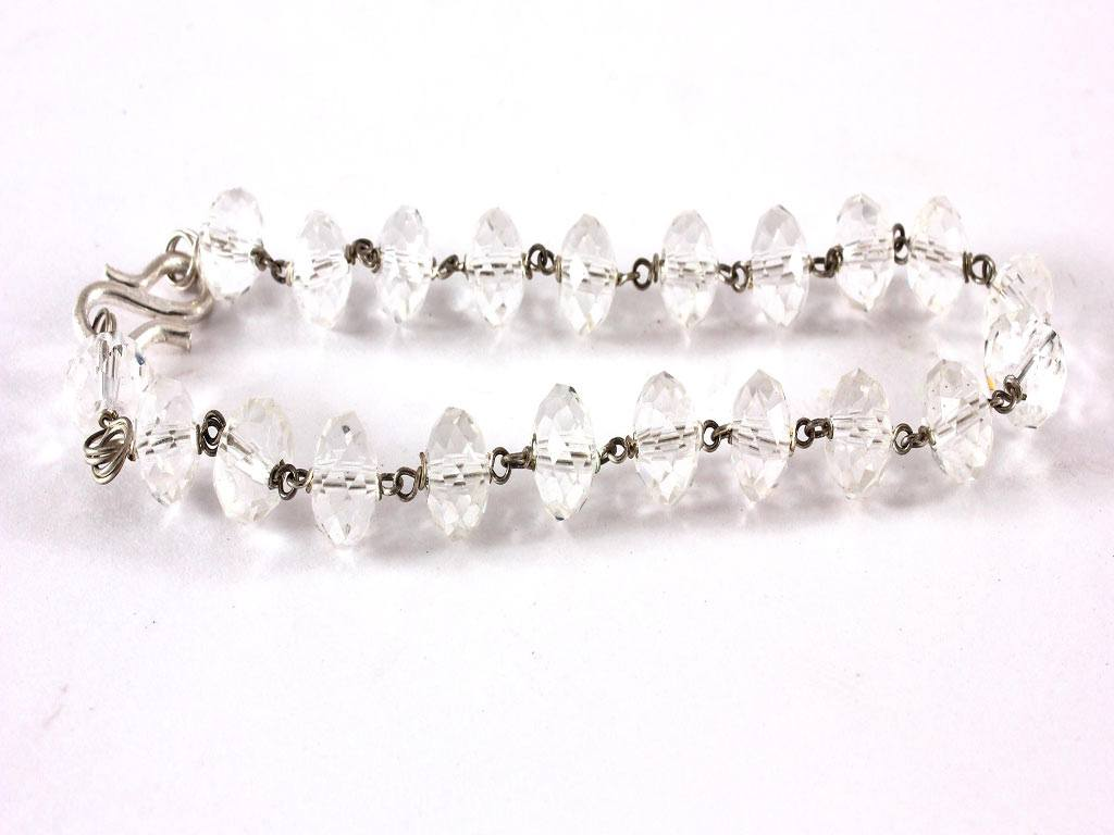 ITEM 76, Lucky Crystal Bracelet