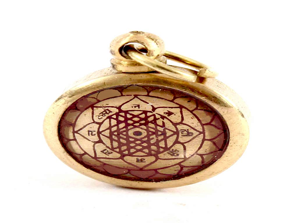 Item 57, Locket Talisman - Shri Yantra